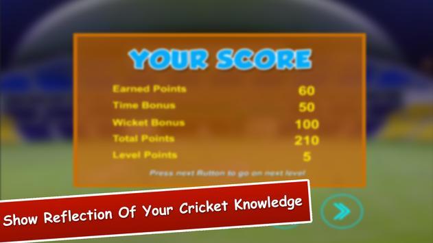Cricket Quiz Fantasy apk screenshot