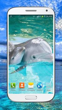 Dolphin Live Wallpaper HD screenshot 3