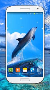 Dolphin Live Wallpaper HD poster