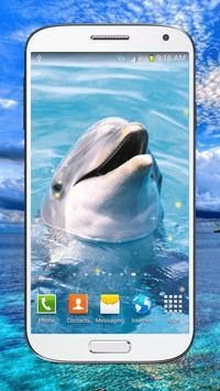 Dolphin Live Wallpaper HD screenshot 1
