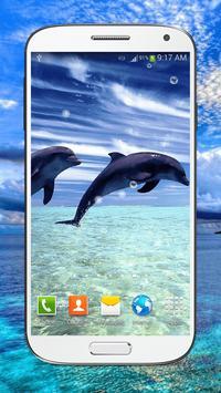 Dolphin Live Wallpaper HD apk screenshot