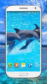Dolphin Live Wallpaper HD screenshot 5