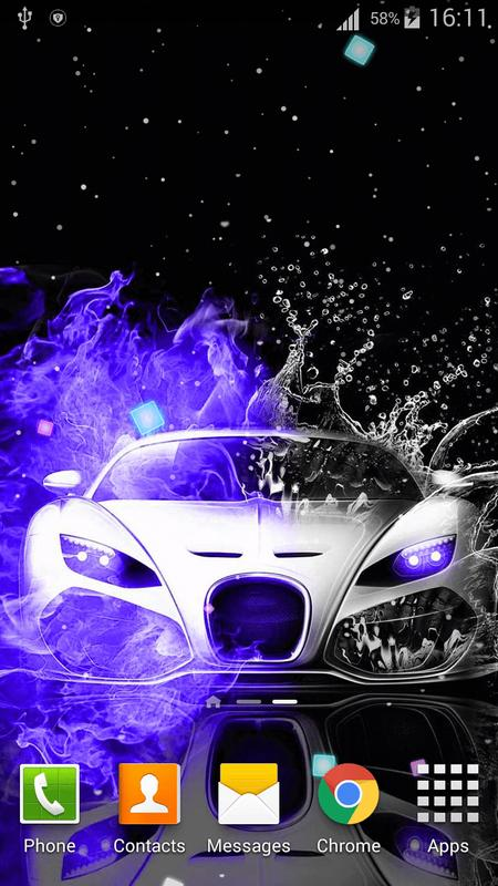 Neon cars live wallpaper hd for android apk download - Car live wallpaper ...