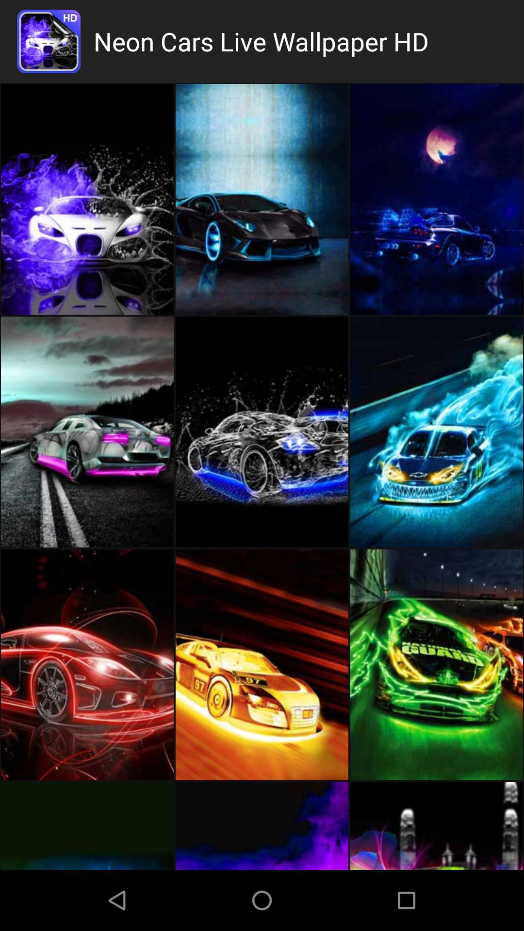 Neon Cars Live Wallpaper Hd For Android Apk Download
