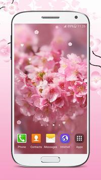 Sakura Live Wallpaper HD poster
