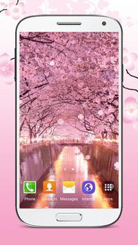 Sakura Live Wallpaper HD apk screenshot