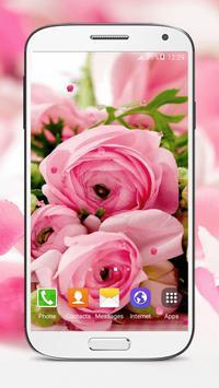Pink Roses Live Wallpaper screenshot 3