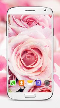 Pink Roses Live Wallpaper screenshot 2