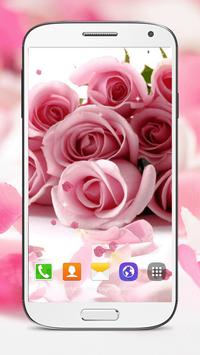 Pink Roses Live Wallpaper screenshot 4