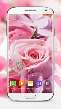 Pink Roses Live Wallpaper screenshot 6