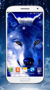 Wolf Live Wallpaper HD poster
