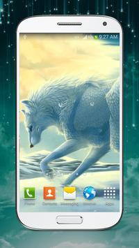 Wolf Live Wallpaper HD apk screenshot