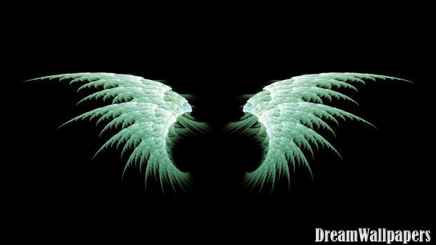 Angel Wings Wallpaper Poster Apk Screenshot
