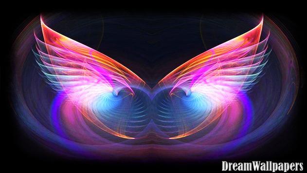 Angel Wings Wallpaper Apk Screenshot