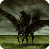 Dark Pegasus Live Wallpaper icon