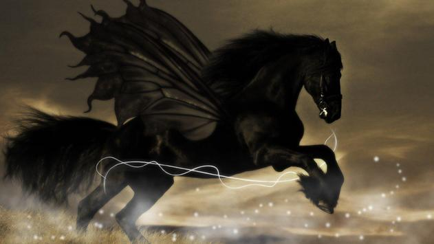 Dark Pegasus Live Wallpaper apk screenshot
