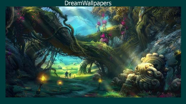 Enchanted Forest Wallpaper poster