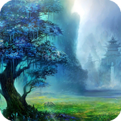 Fantasy Forest Live Wallpaper icon
