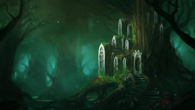 Fantasy Forest Live Wallpaper apk screenshot
