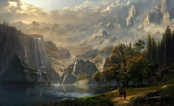 Fantasy Landscape Wallpaper apk screenshot