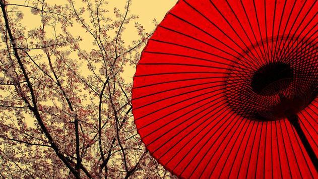 Japanese Umbrella Wallpaper Apk Screenshot
