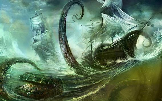 Kraken Live wallpaper apk screenshot