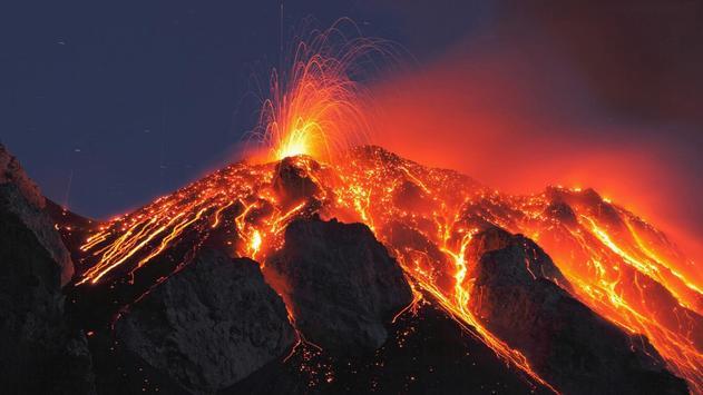 Volcano Live Wallpaper apk screenshot