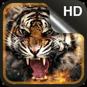 Tiger Live Wallpaper HD icon