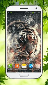 Tiger Live Wallpaper HD poster