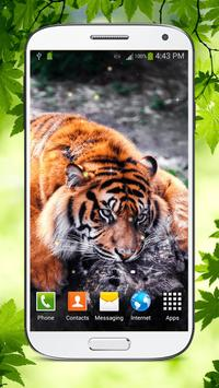 Tiger Live Wallpaper HD screenshot 5