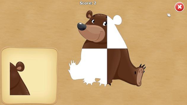 Baby Puzzles: Nature Adventure screenshot 3