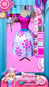 Dress Designer Game for Girls poster