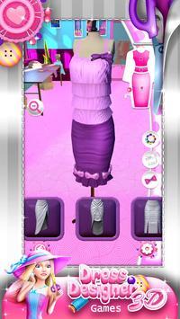Dress Designer Game for Girls screenshot 2