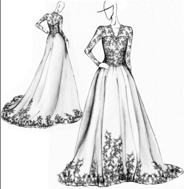 Dress Design Sketches APK Download - Free Art & Design APP for ...