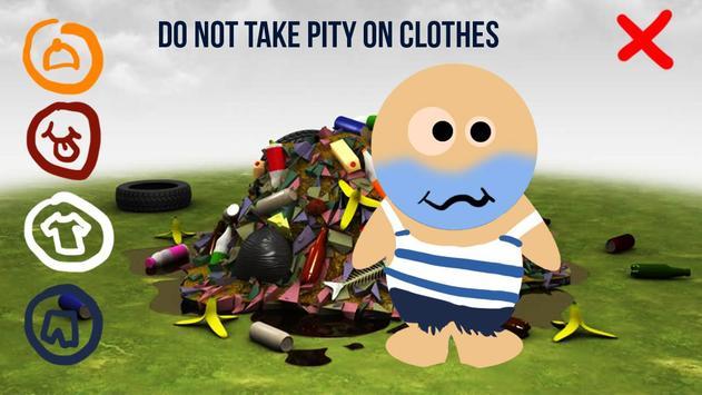Dress Up Homeless 3D apk screenshot