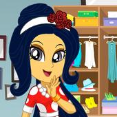 Dress Up Princess Superstar icon