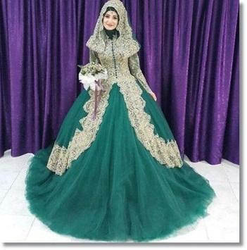 Dresses Wedding Muslim New poster