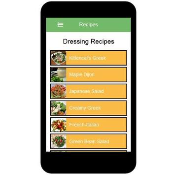 Dressing Recipes screenshot 6