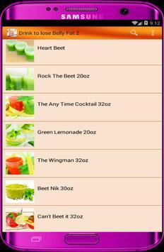 Diet Drink lose Belly Fat pro apk screenshot