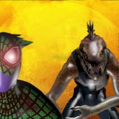 Spider hero vs lizard 2 icon