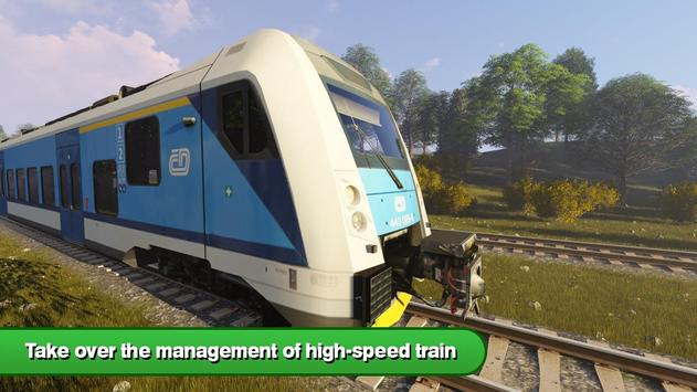 Driver in Train Simulator 3D screenshot 6