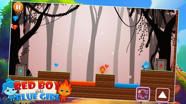 RedBoy and BlueGirl In Forest screenshot 5