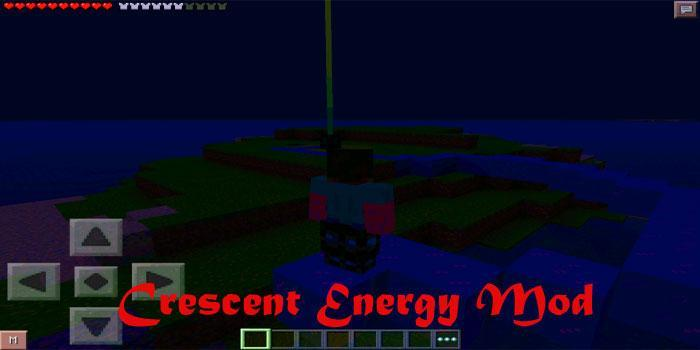 Crescent Energy Mod for MCPE poster