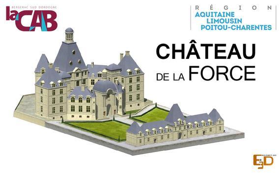 Château La Force 24130 - CAB poster