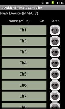 LANtick PE Remote Controller screenshot 1