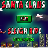 Santa Claus Sleigh Ride icon