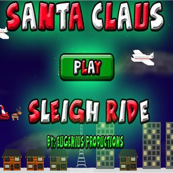 Santa Claus Sleigh Ride poster