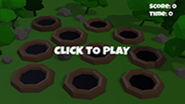 Hammer the hole with Mole 3D screenshot 1
