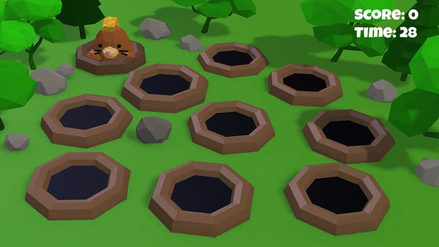 Hammer the hole with Mole 3D screenshot 2