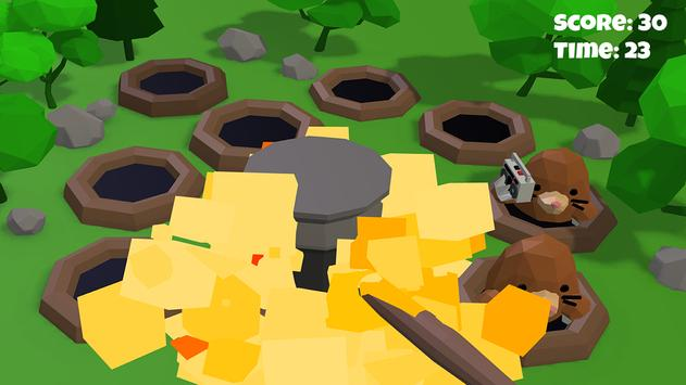 Hammer the hole with Mole 3D screenshot 3